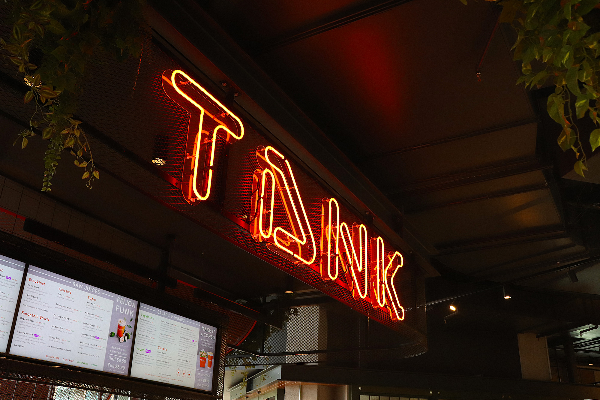 Tank Juice at Newmarket 277 in Neon