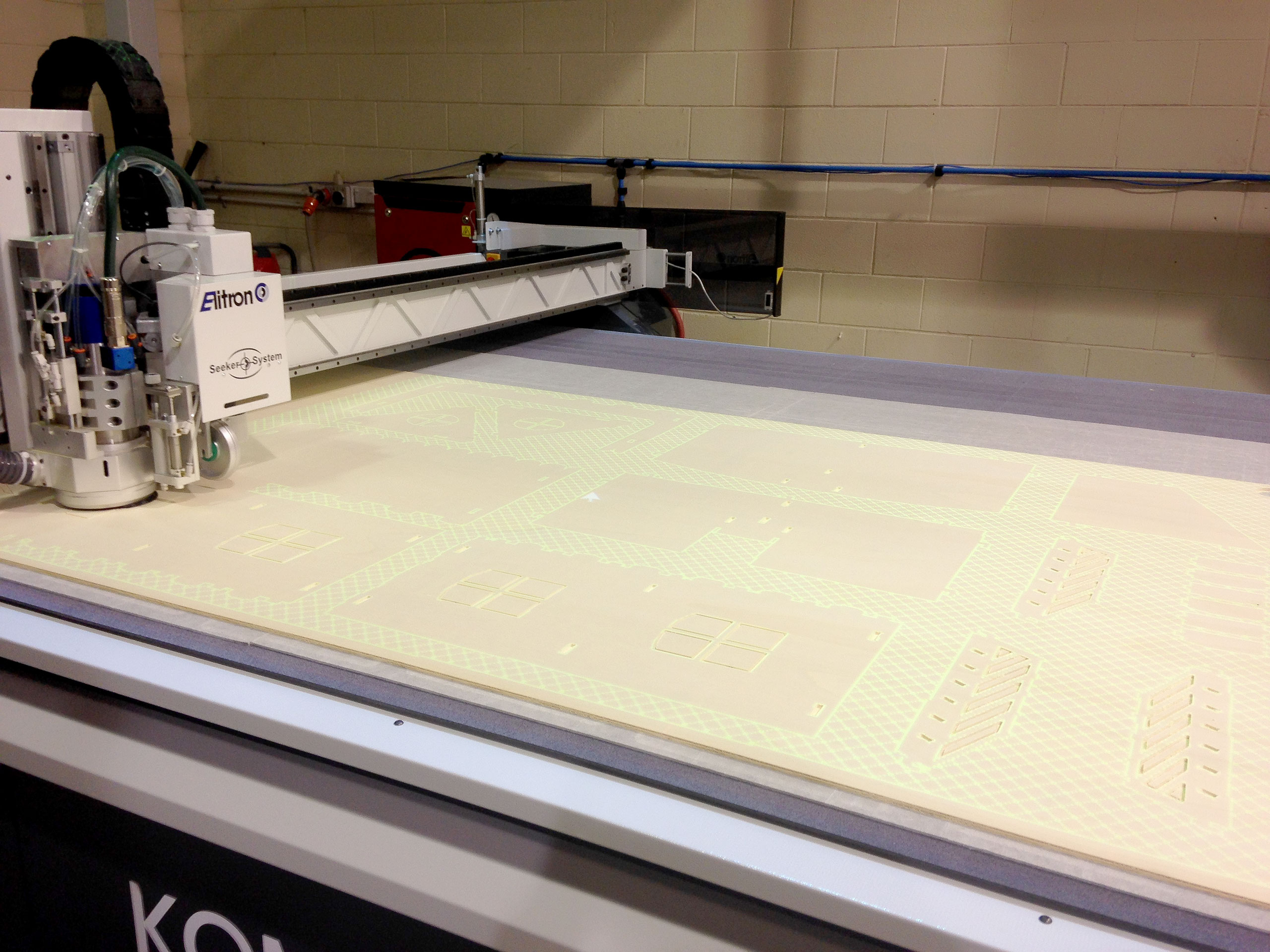 the CNC router at Xtream signs