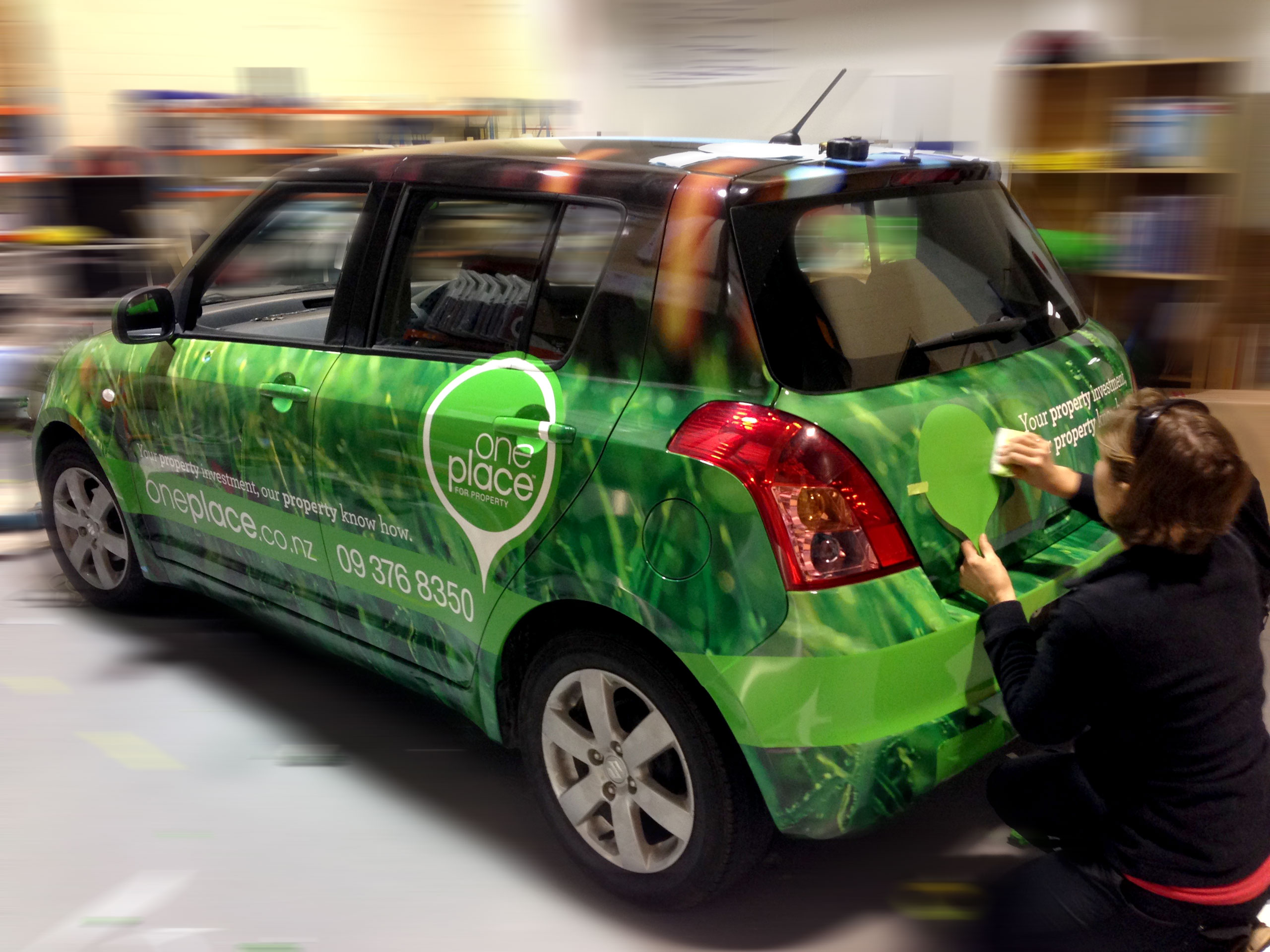 branded vehicles look great with a full vehicle wrap
